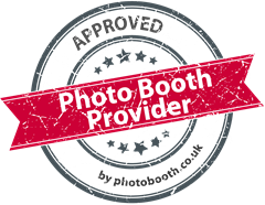 Approval seal for photo booth hire