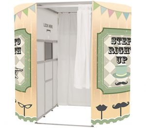 Our classic photo booth perfect or parties and corporate hire