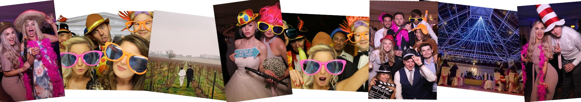 Images recorded by our photo booths at events in Denbies