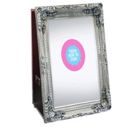 Magic Mirror photo booth hire in London