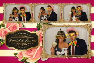 Photo booth hire at a wedding